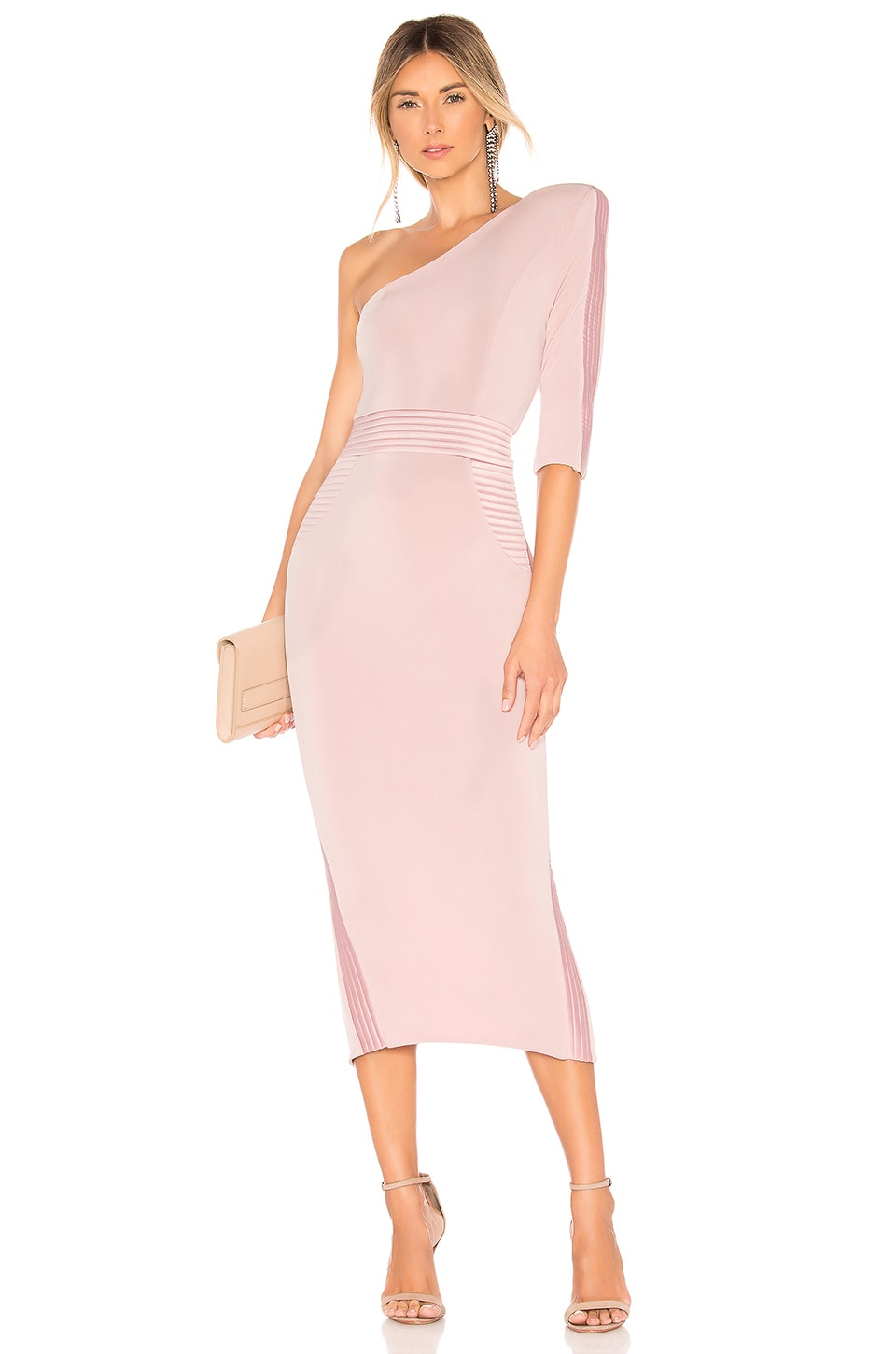 Zhivago Follow Me Dress in Blush