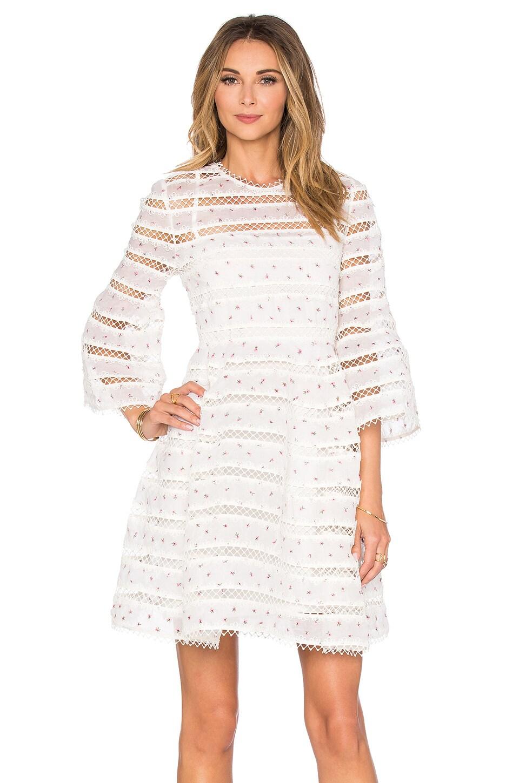 Zimmerman white dress on sale.