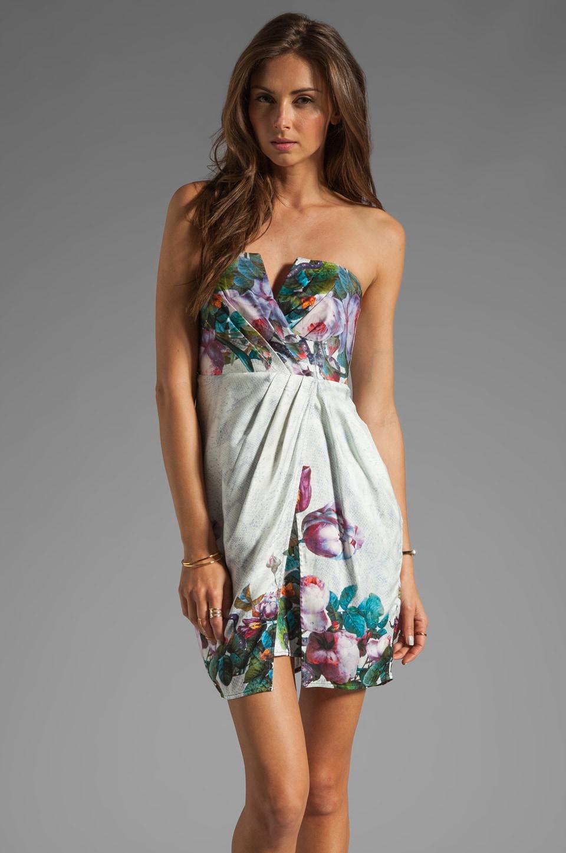 Zimmermann Dazed Botanical Wrap Dress in Floral