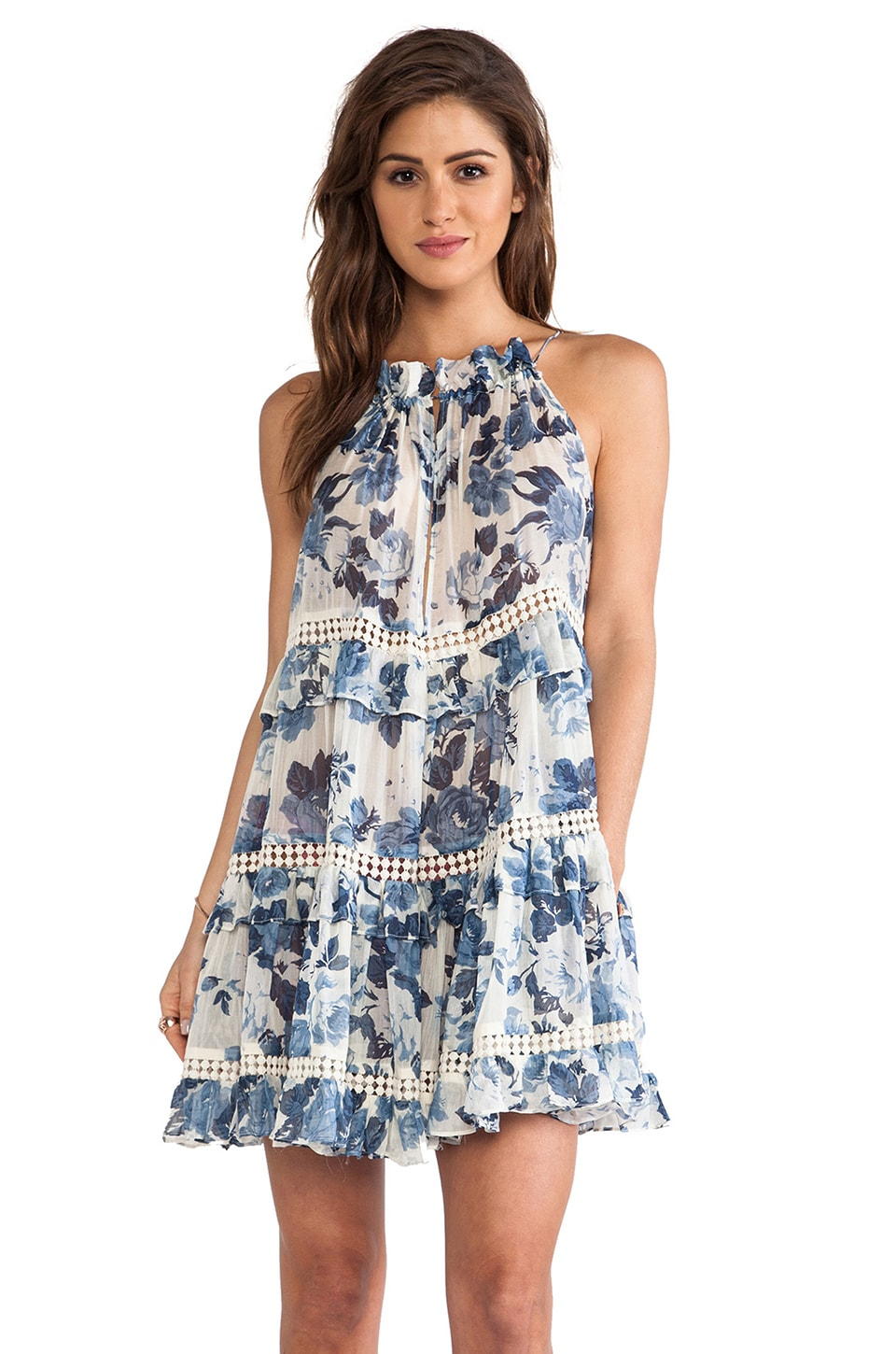 Zimmermann Hydra Cupcake Dress in Floral
