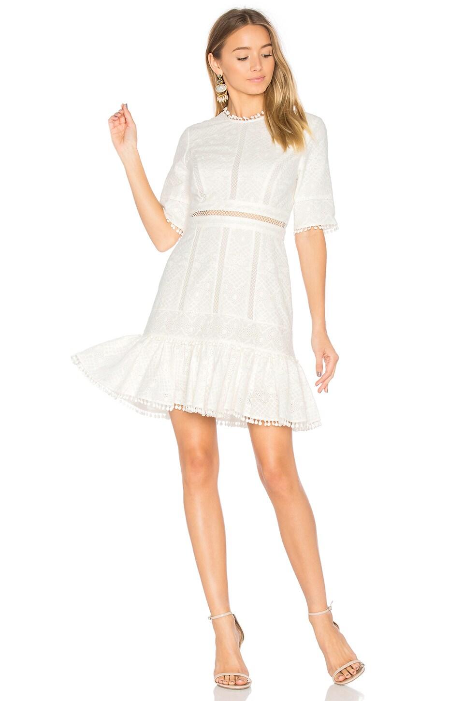 Caravan Embroidered Flip Dress by Zimmermann