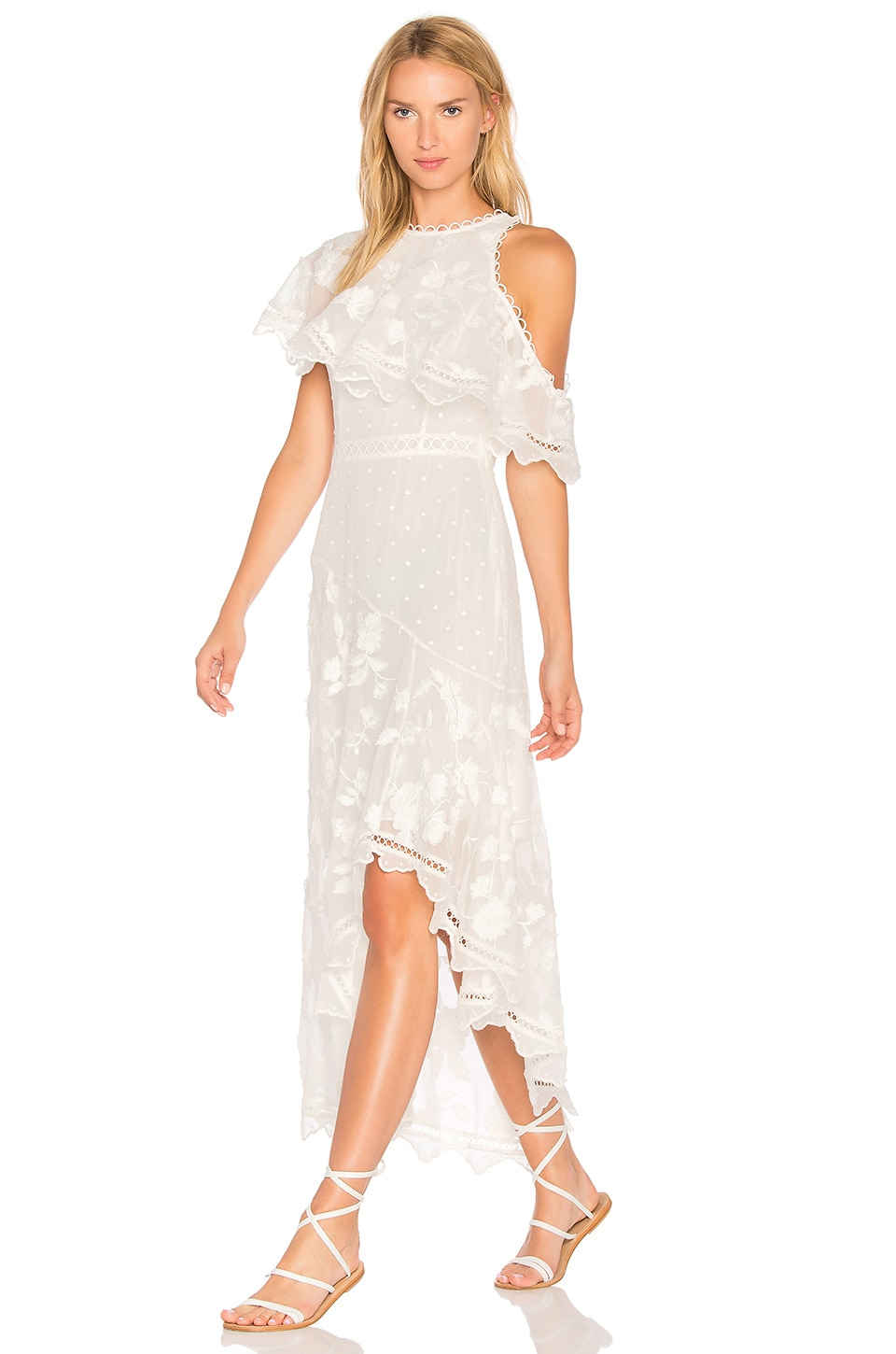 Mercer Bird Floating Dress by Zimmermann
