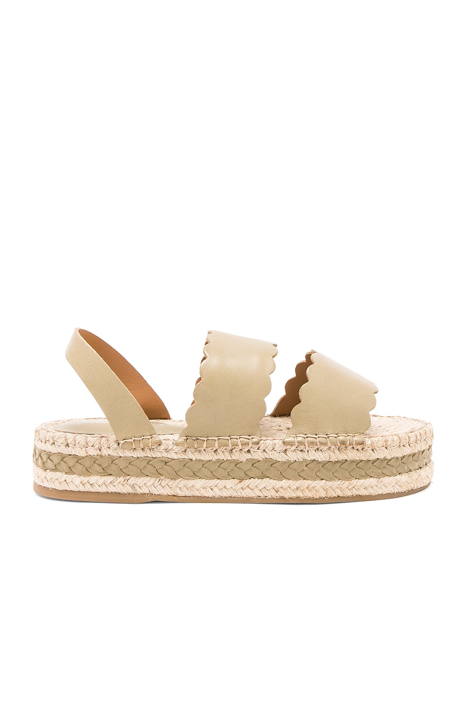 Scallop Espadrille Sandal by Zimmermann