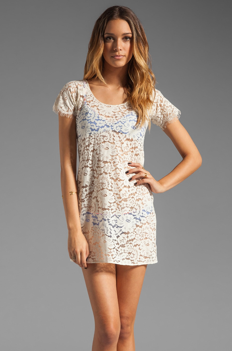 zinke Endless Summer Lace Dress in Sugar