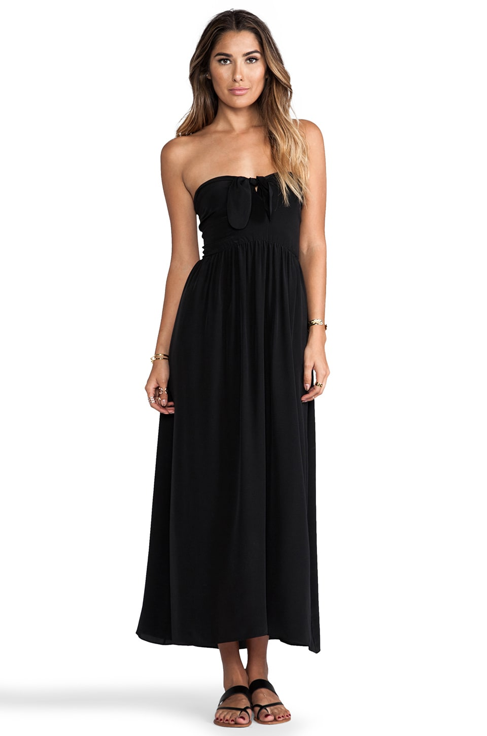 zinke Zoe Dress in Black