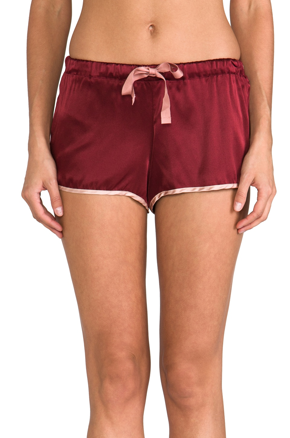 zinke Oli Short in Garnet