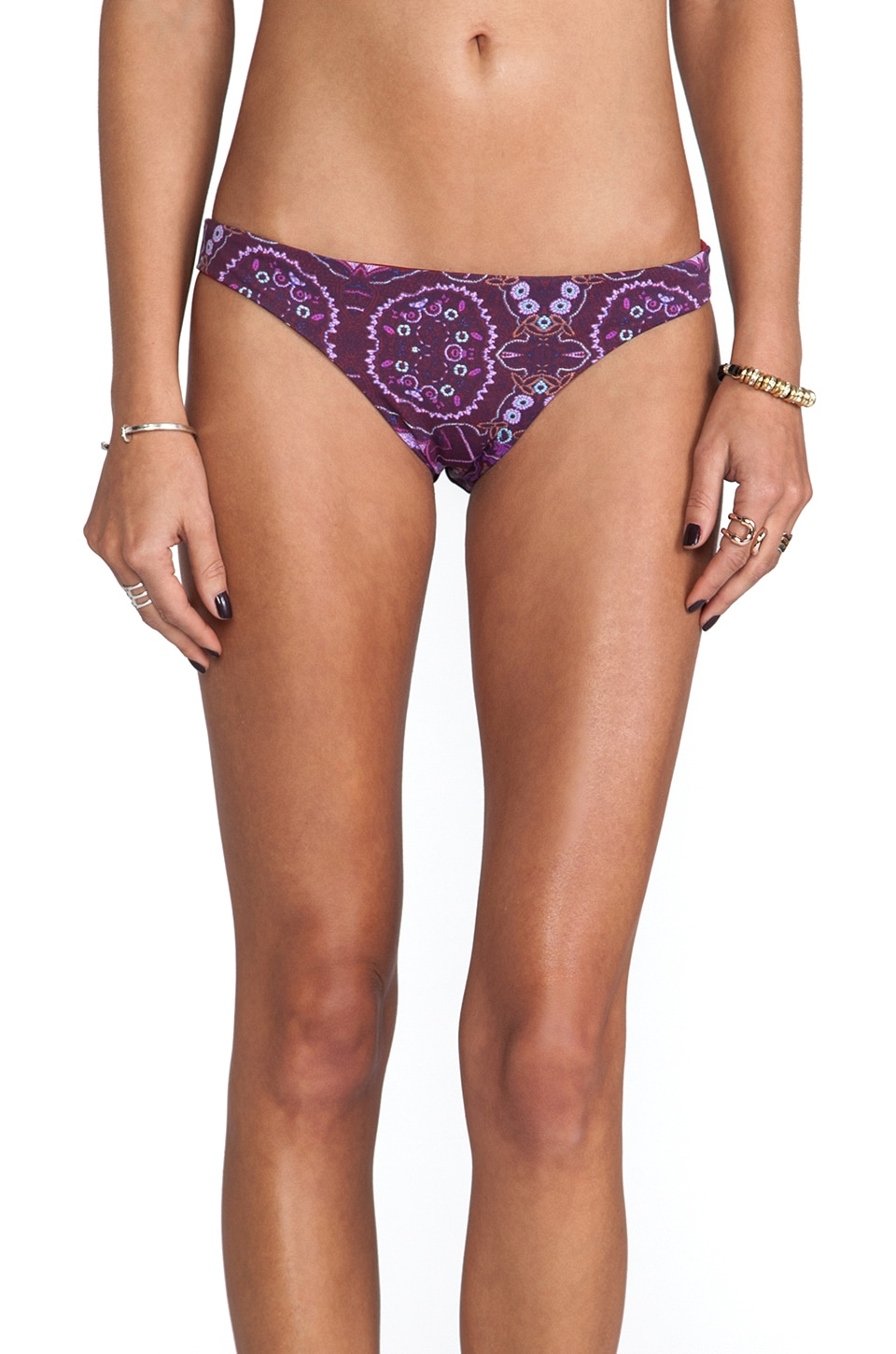 zinke Emmi Reversible Bottom in Rio Print & Rio Red
