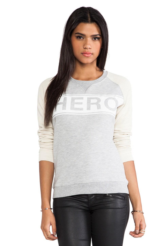 Zoe Karssen Hero Sweatshirt in Grey Heather