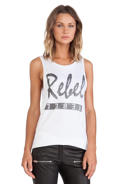 Zoe Karssen Rebel Tank in White