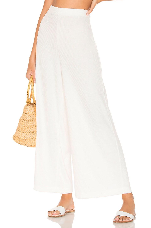 ZULU & ZEPHYR Panama Pant in Warm White