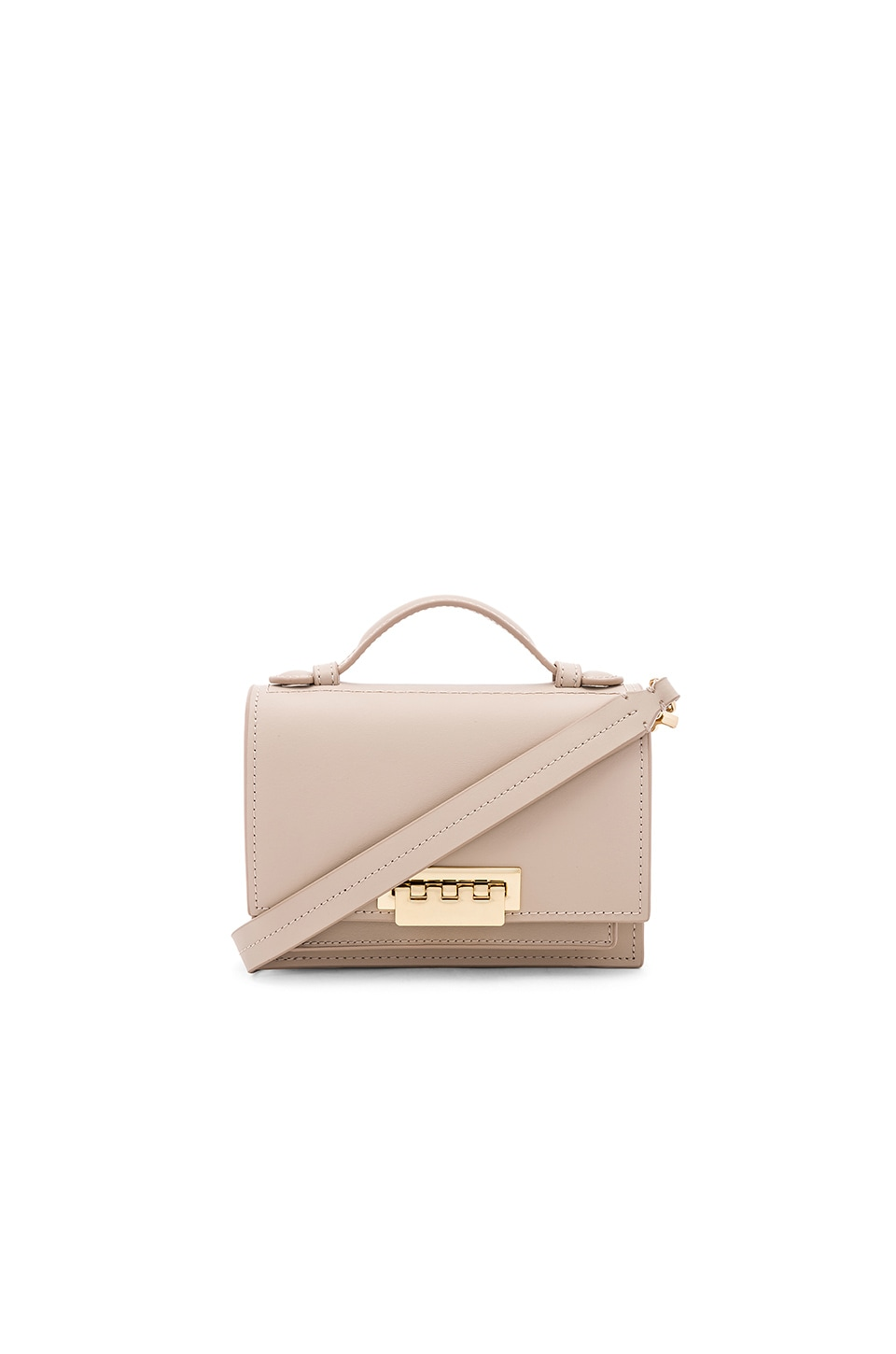 Zac Zac Posen Earthette Accordion Crossbody in Sand