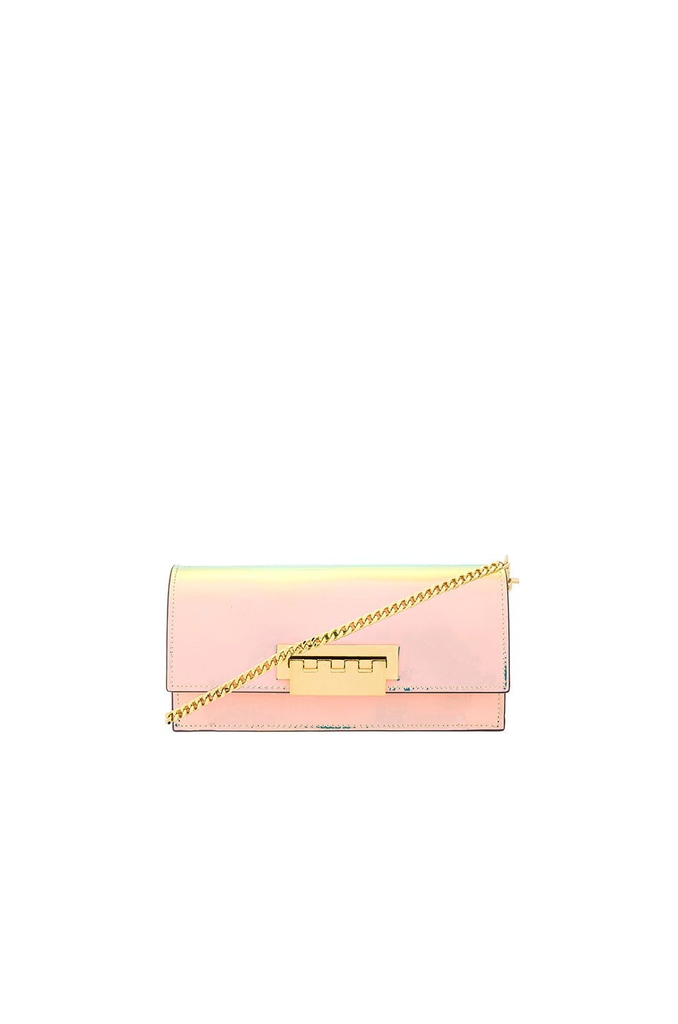 Zac Zac Posen Earthette Flat Crossbody in Iridescent