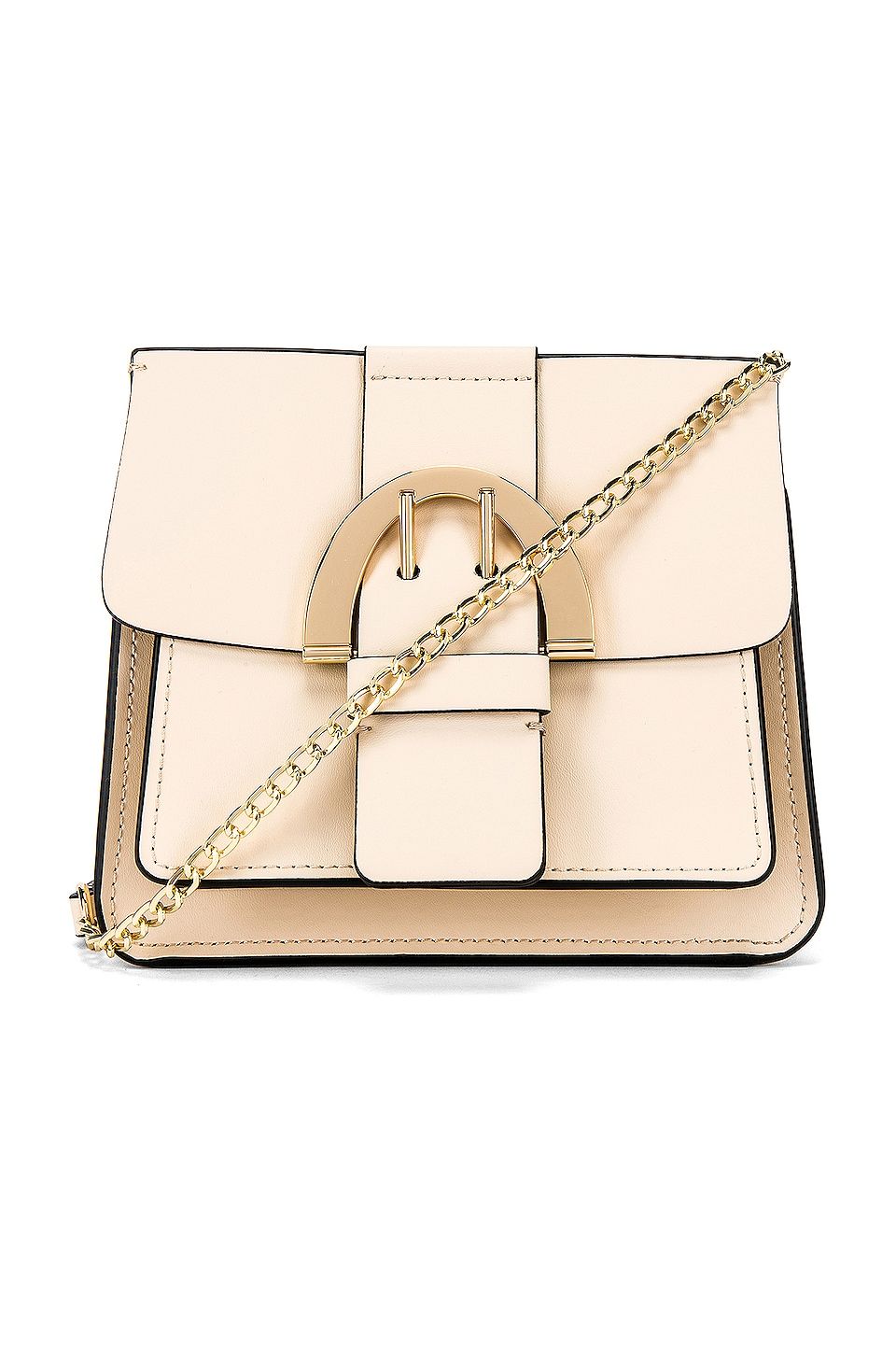 Zac Zac Posen Biba Buck Chain Crossbody in Ivory