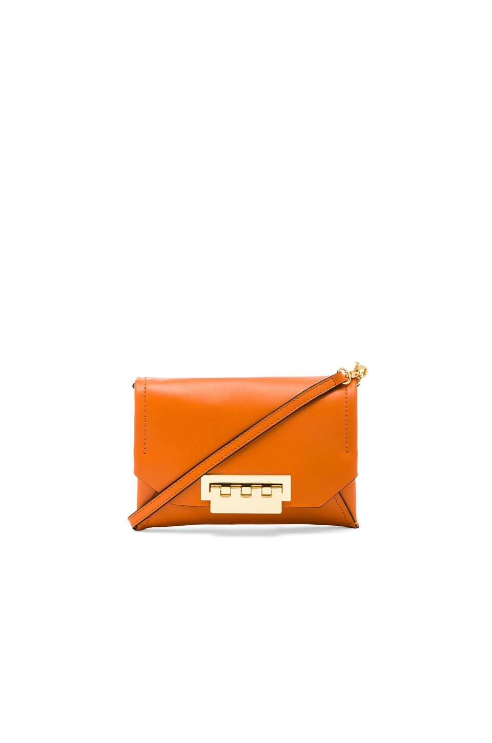 Zac Zac Posen Eartha Envelope Crossbody in Orange