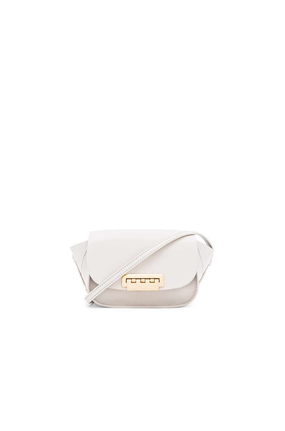 Zac Zac Posen Eartha Iconic Micro Accordion Crossbody Bag in Ivory