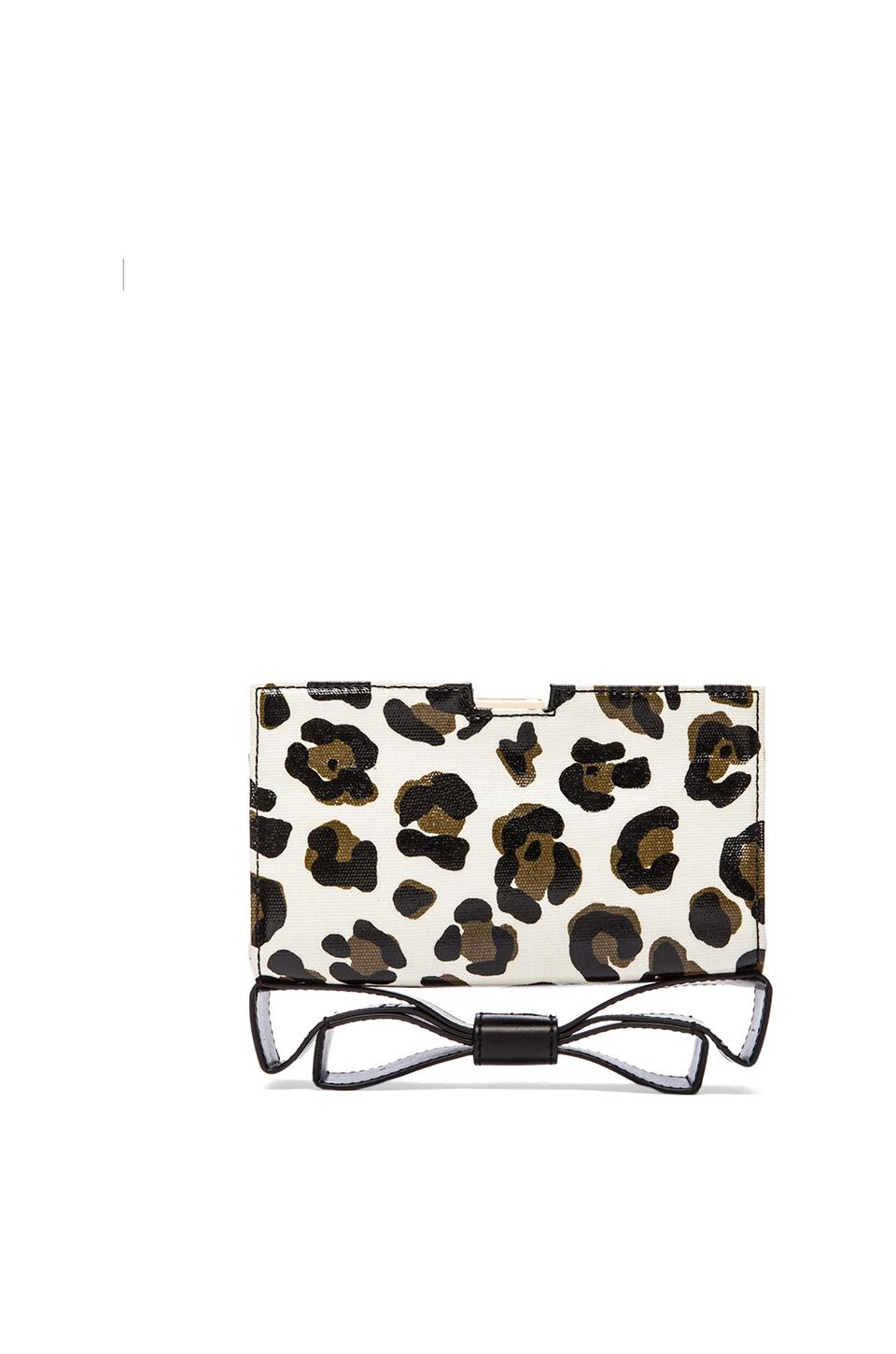 Zac Zac Posen Milla Small Frame Clutch in White