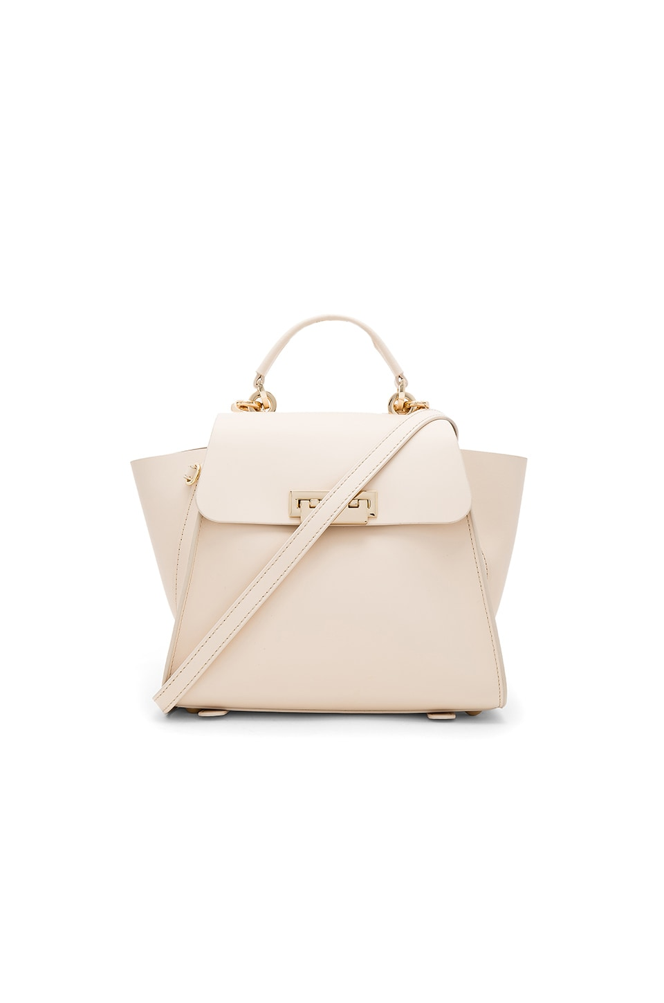 Zac Zac Posen Eartha Iconic Convertible Solid Backpack in Ivory