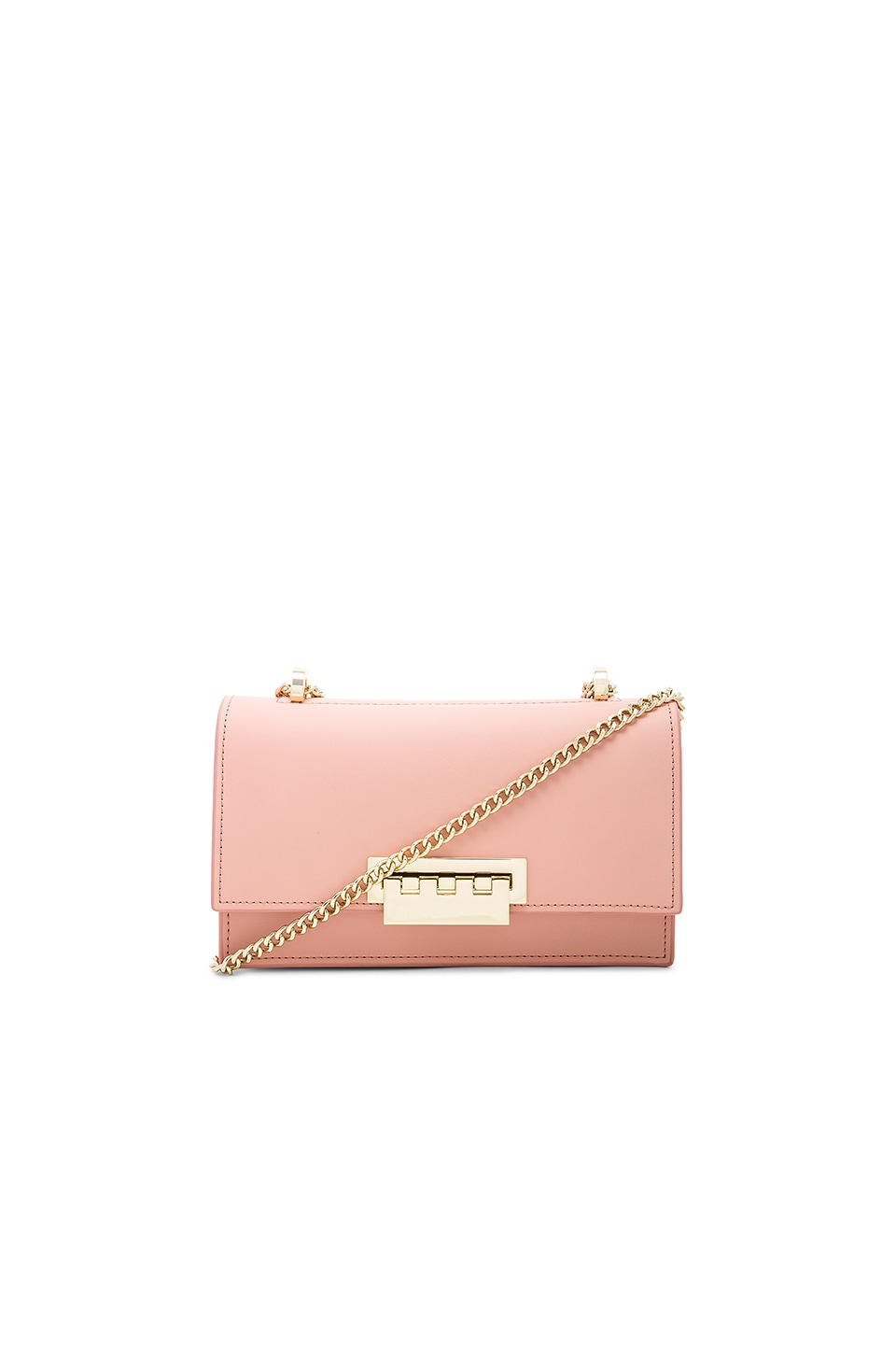 Zac Zac Posen Earthette Accordion Shoulder Bag in Rose