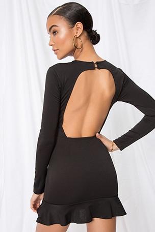 Myna Open Back Dress