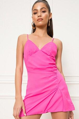 Leilani Ruched Mini Dress