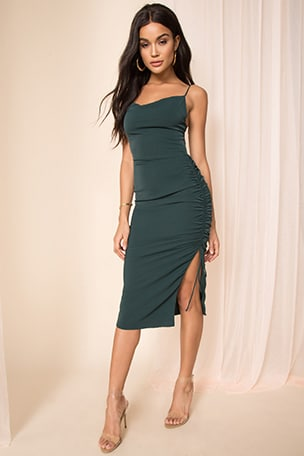 Sarah Side Tie Dress