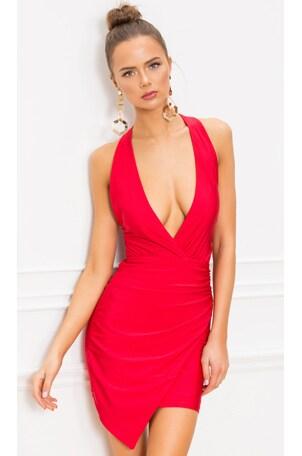 Alicya Drape Dress