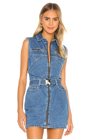 Donatella Denim Dress