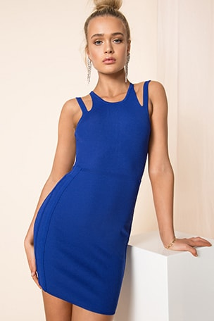 Briela Cut Out Bodycon Dress