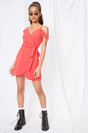 Arabella Wrap Dress