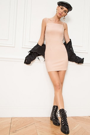 Petra Backless Mini Dress
