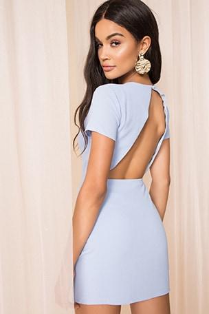 Cheyenne Open Back Dress