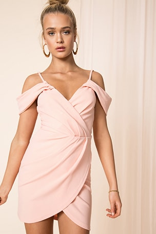 Brenda Draped Dress