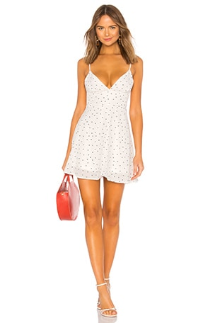 Sienna Polka Dot Fit and Flare