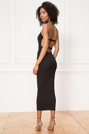Kimmy Halter Strap Back Dress