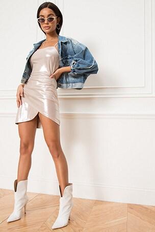 Elaina Wrap Dress