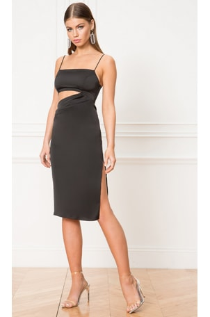 Erin Cut Out Midi Dress