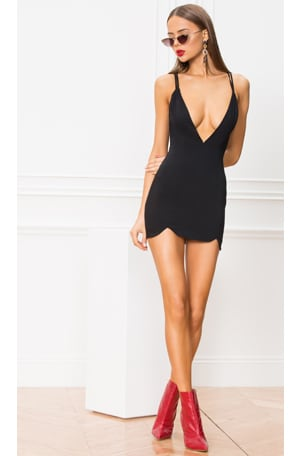 Joey Double Strap Mini Dress