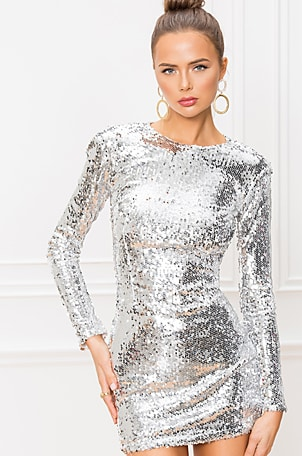 Shayla Sequin Dress