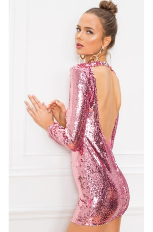Cindi Sequin Mini Dress