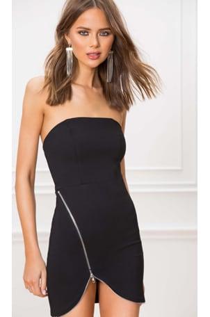 Nylah Front Zip Dress