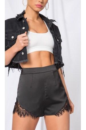 Ophelia Lace Trim Shorts