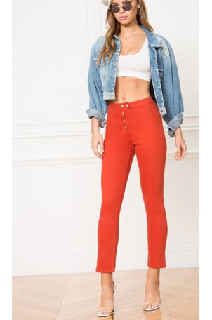 Veronica Snap Front Pant