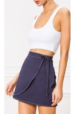 Maci Wrap Skirt