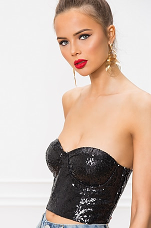 Kailey Strapless Top