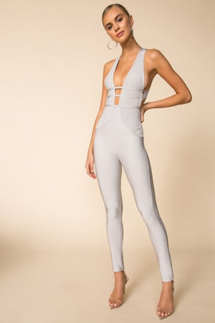 Brently Crossback Jumpsuit