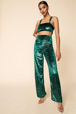 x Draya Michele Dorian Pant Set