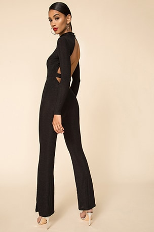 Nissa Open Back Jumpsuit