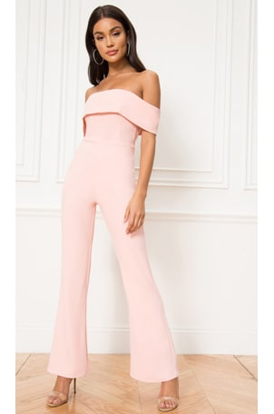 Aubrey Off Shoulder Jumpsuit