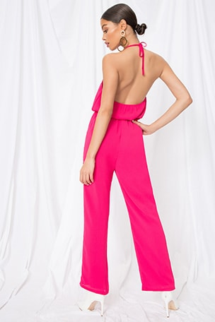 Brielle Halter Jumpsuit