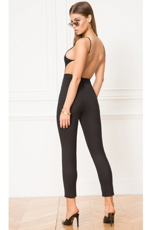 Susie Open Back Jumpsuit